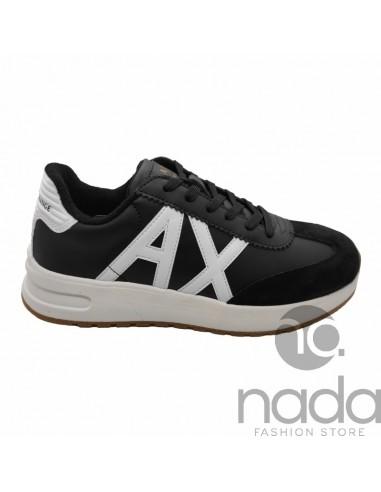 A|X Sneaker Nero & Bianco Ottico