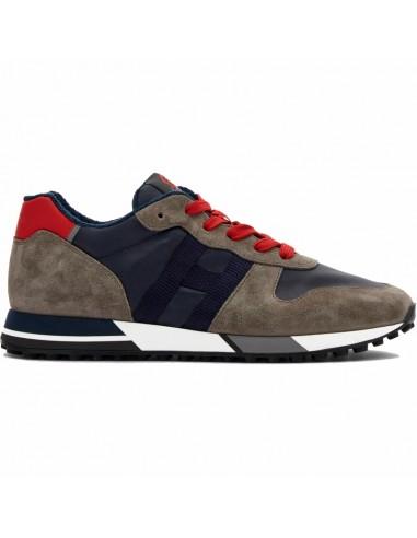 Hogan Sneakers H383 Grigio Nero